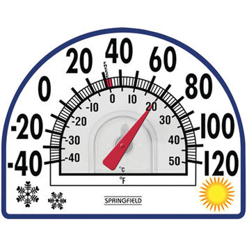 Taylor 91157 Springfield 91157 Four Season Window Cling Thermometer