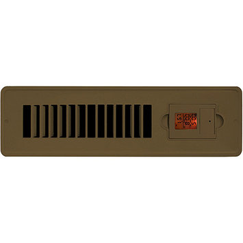 Vent-Miser 206984 Vent-Miser 91663-BR Programmable Energy Saving Vent 12-by-2-Inches Brown