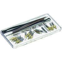 ArtBin Pen & Nib Art Case- Clear