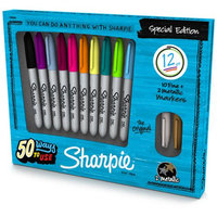 Sanford Sharpie Fine Point Special Edition Permanent Markers 12/Pkg