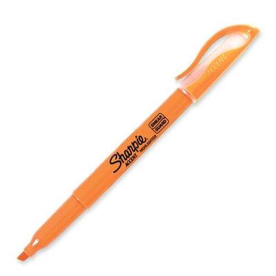 Sanford Ink Corporation Pocket Highlighter, Chisel Tip, Florescent Orange