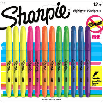 Sharpie Accent 12-Pack Pocket Style Highlighter (1-Card)