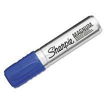 Faber Castell/sanford Ink Company Sharpie(R) Magnum(R) Permanent Marker, Chisel Tip, Blue Ink
