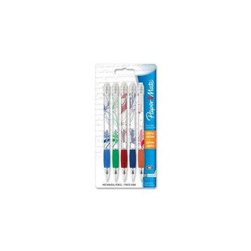 Papermate/Sanford Pencils Mechanical Pencil, .7mm, 5 Count, Assorted