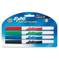 Cardscan 84674k Sanford Expo 2 Dry-erase Marker - Point Marker Point Style - Red Ink Black Ink Blue Ink Green Ink - 4 / Pack