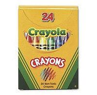 Crayola. 520024 Classic Color Pack Crayons Tuck Box 24/Box