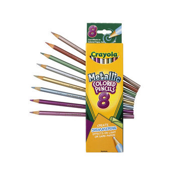 Crayola Metallic FX Colored Pencils - 8 Pencils