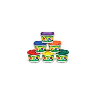 Crayola Modeling Dough Bucket, 3 lbs, Assorted, 6 Buckets/Set