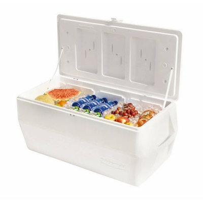 Rubbermaid Coolers 150 qt. Marine Cooler Whites FG2B8001TRWHT