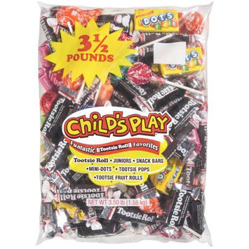 Child's Play Tootsie Roll Assorted, 56 Oz