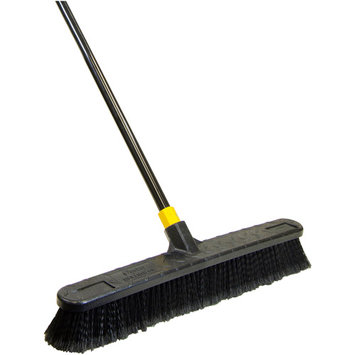 Quickie Mfg Bulldozer 24 Inch Soft Sweep Pushbroom 00533 by Quickie