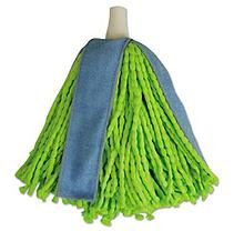 Quickie 590941M Lysol Cone Mop Supreme Refill Green/blue