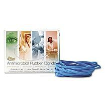 Alliance Antimicrobial Rubber Bands, 3-1/2