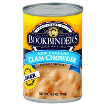 Bookbinder's Soup New Eng Clam Chowder -Pack of 6