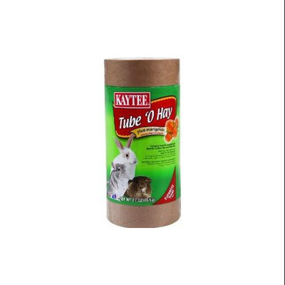 Kaytee Products Inc - Tube O Hay Plus- Marigold 2.7 Ounce