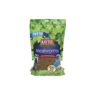 Kaytee Products Kaytee Mealworms Bird Food: 17.6 oz