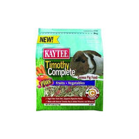Kaytee Products Inc - Timothy Complete plus Fruits & Vegetables Guinea Pig 5 Pound