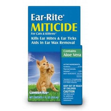 Lambert Kay Ear-Rite Miticide for Cats & Kittens