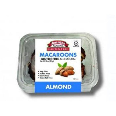 Jennies Macaroon Almnd Clam Shell 10 OZ -Pack Of 12
