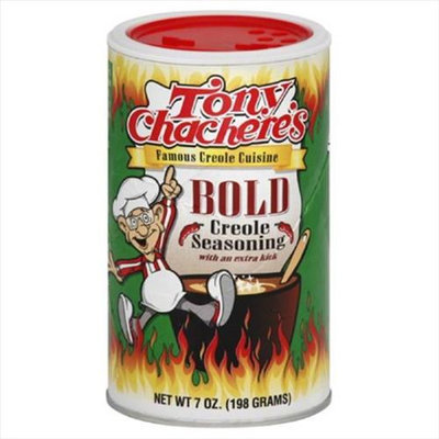 Tony Chachere's Tony Chacheres Seasoning Creole Bold 7 Oz Pack Of 6