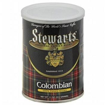 Stewart's Stewarts Coffee 100% Columbian 12 Oz Pack Of 6