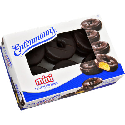Entenmann's Mini Donuts Rich Frosted