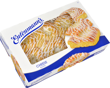 Entenmann's Cheese Topped Buns