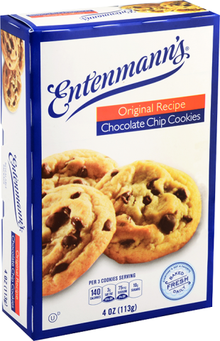 Entenmann's Single Serve Original Recipe Chocolate Chip Cookies