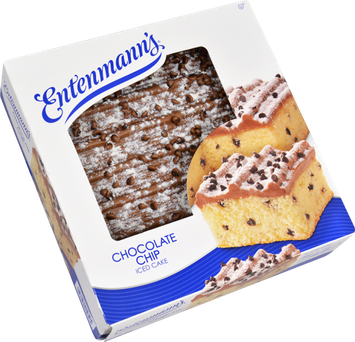 Entenmann's Chocolate Chip Iced Cake