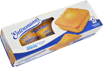 Entenmann's Pound Cake Mini Cakes