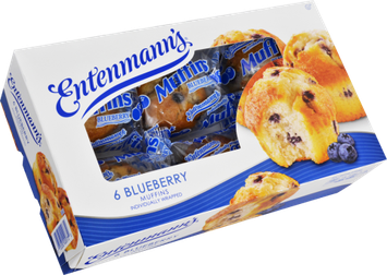 Entenmann's Little Bites Blueberry Muffin Pouches