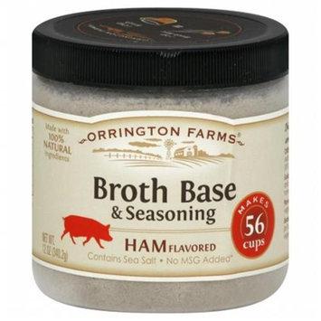 Orrington Farms Broth Base & Seasoning Ham Flavored - 12 oz
