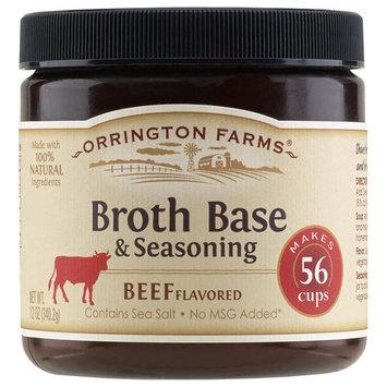 Orrington Farms Broth Base & Seasoning Beef Flavored - 12 oz
