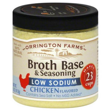 Orrington Farms Chicken Flavored Broth Base and Seasoning, 5 oz, Pack of 6