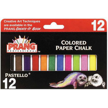 Prang Gallery Pastellos - Colored Paper Chalk - 24-Color Set