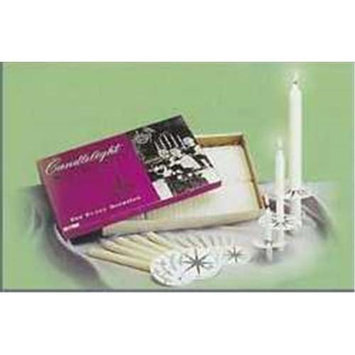 Emkay Candles Emkay Candlelight Church Service Set - 432 Candles
