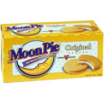 Moon Pie Moonpie Original Banana Moonpie, 12 oz