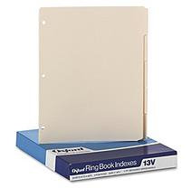 Esselte Pendaflex Corporation ESS13V - Esselte Ring Book Index Sheets