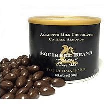 Squirrel Brand Amaretto Milk Chocolate Covered Almonds (18 oz. )