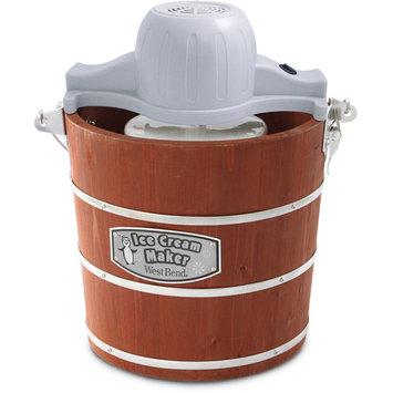 Westbend West Bend Wooden Bucket Ice Cream Maker