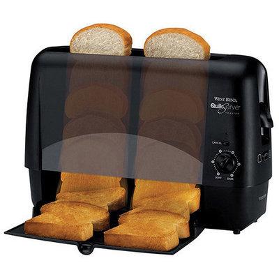 Focus Electrics 78224 WB Quikserve Toaster-Black