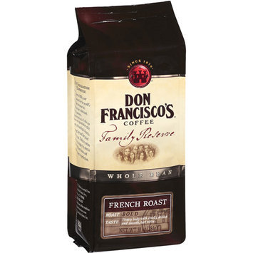 Don Francisco's Coffee Family Reserve French Roast Whole Bean Coffee, 10 oz