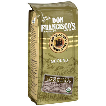 Don Francisco's Coffee Don Francisco's Specialty 100% Organic Mayan Blend Ground Coffee, 12 oz