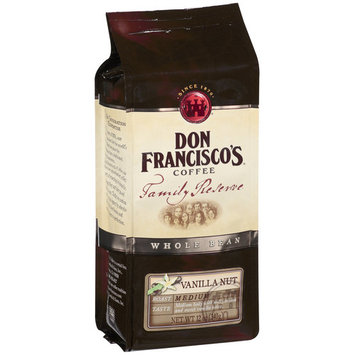 Don Francisco's Coffee Don Francisco's Family Reserve Vanilla Nut Whole Bean Coffee, 12 oz