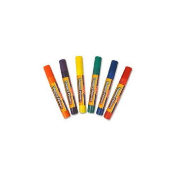 The Board Dudes Tempera Paint Pen - Red Orange Yellow Green Blue Purple Ink - Assorted Barrel - 6 Each (48344aa12)