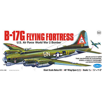 Guillow Boeing B17G Flying Fortress Multi-Colored