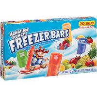 Jel Sert Hawaiian Punch(r) Freezer Bars, 1.5 oz, 20 count