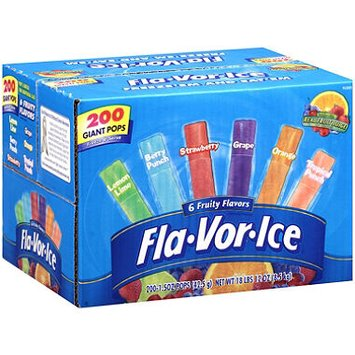 Flavor Ice Giant Pops