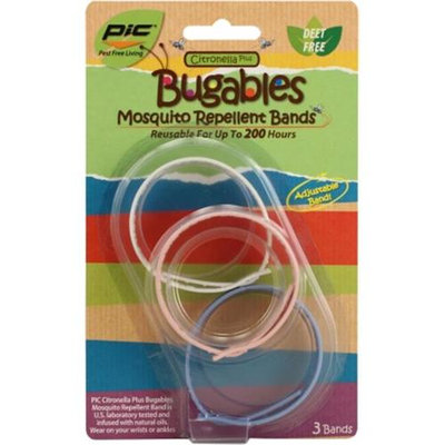 PIC Mosquito Repellent Wristband Pack 3 Count
