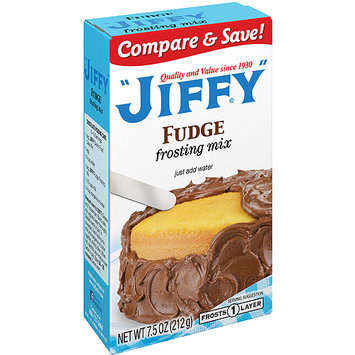 Jiffy Frosting Mix Fudge, 7.5 oz, 24 pk